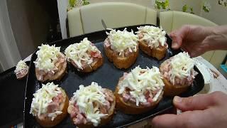 Горячие бутерброды / Простые рецепты