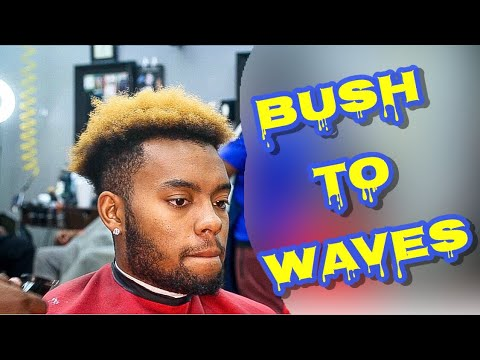 ITS OVER!: EASY DROP FADE WITH WAVES| BEARD TRIM| BRIGGS SQUAD