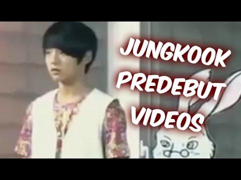 BTS Jungkook Predebut Videos