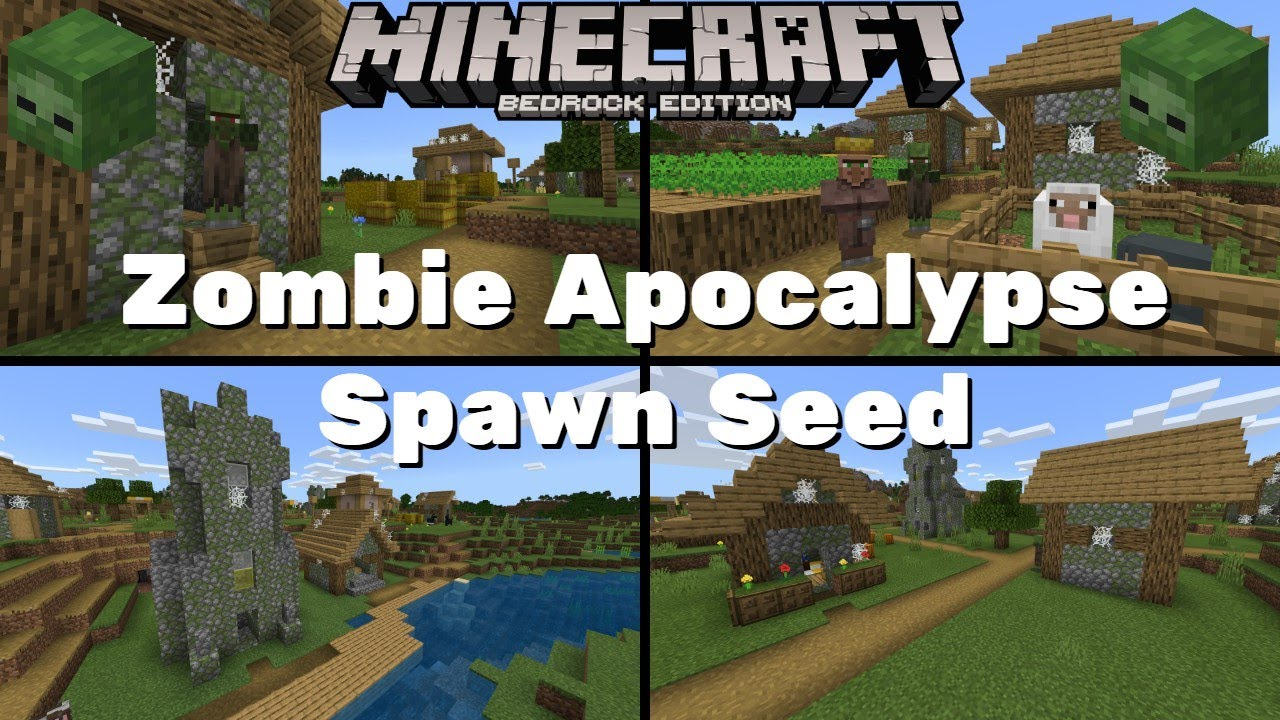 Zombie Apocalypse Spawn Seed - Minecraft Bedrock Edition 12.126