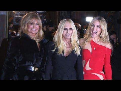 Versace - Haute Couture SS 2015 arrivals