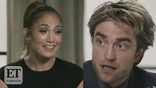 Robert Pattinson Jennifer Lopez Talk And39batmanand39