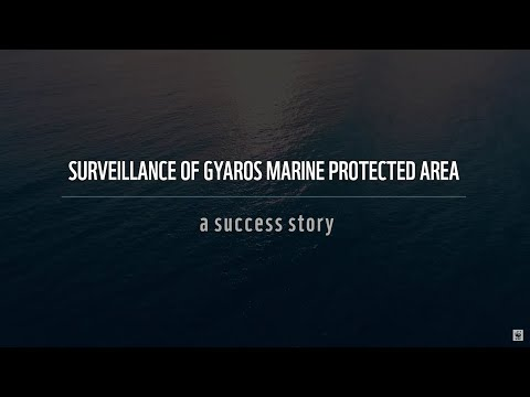 Surveillance of Gyaros Marine Protected Area: a success story