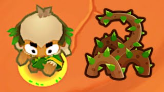 This NEW Druid Brambles Attack Is AMAZING! (Bloons TD 6)