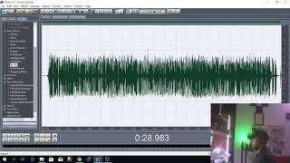 Adobe Audition 1.5- طريقة تسجيل أغنية راب كاملة مع الهندسة على برنامج