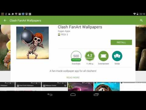 How To Get Clash Of Clans Wallpaper