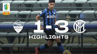 ROMA 1-3 INTER | PRIMAVERA HIGHLIGHTS | We dominate the big clash at the top! 💣⚫🔵