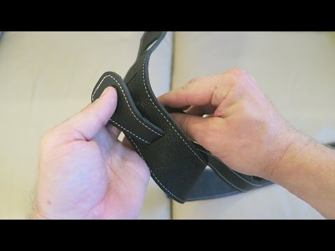 FENDER MONOGRAM LEATHER GUITAR STRAP SET UP + UNBOXING