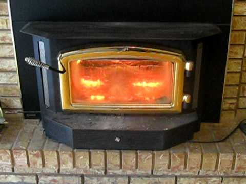 A Regency Fireplace Insert Close Up YouTube