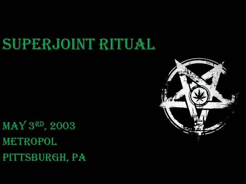 Superjoint Ritual - May 3rd, 2003 - Metropol - Pittsburgh, PA (AUDIO ONLY)