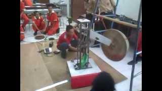 Setting program robot pemukul gong versi_1 di Teknik Otomasi Indust...