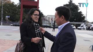 Interviews at the Broken Chair before the Geneva Forum 2018