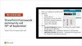SharePoint Framework & JavaScript SIG Meetings