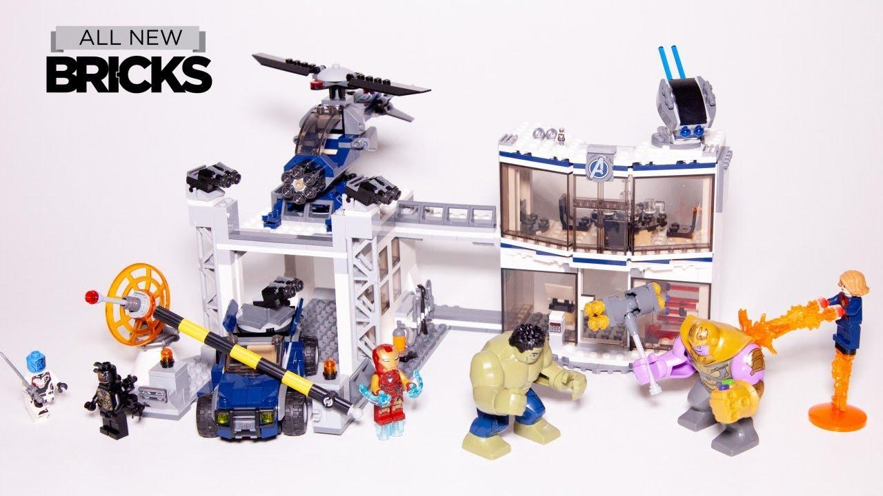 Lego Avengers Endgame 76131 Avengers Compound Battle Speed ...