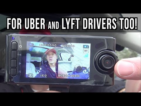 Great Dual Dash Cam For Uber And Lyft Drivers Plus Regular Drivers