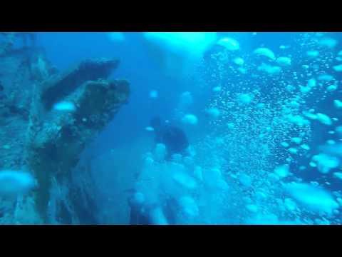 Vandenberg wreck 12/31/2014 first dive.