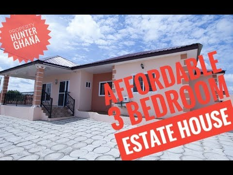 Affordable 3 Bedroom Estate House in Kasoa, Ghana - Blue Ross Estate++FOR SALE++