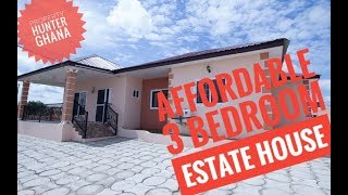Affordable 3 Bedroom Estate House in Kasoa Ghana - Blue Ross EstateFOR SALE
