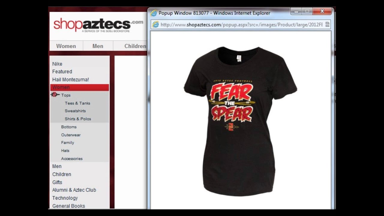 Shopaztecs.com 2012 Football Radio Ad - YouTube 9b53ff44a