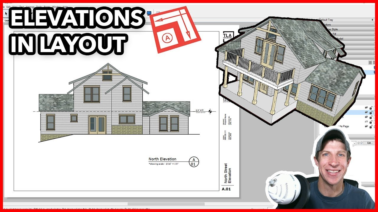 Creating Elevations in Layout from Your SketchUp Model - The