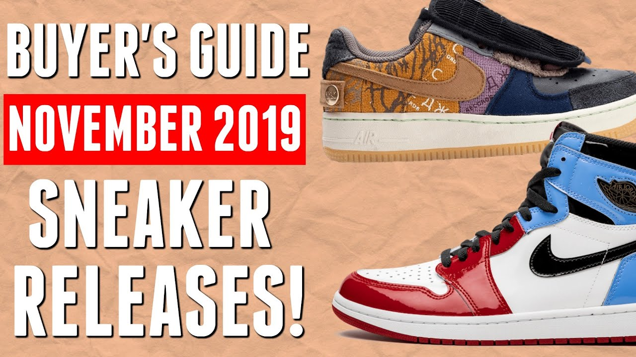 new sneakers releases 2019