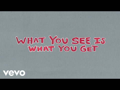Luke Combs - What You See Is What You Get (Lyric Video)