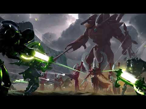 Cinematic introduction to the Eldar (lore of the Warhammer 40,000 universe). |