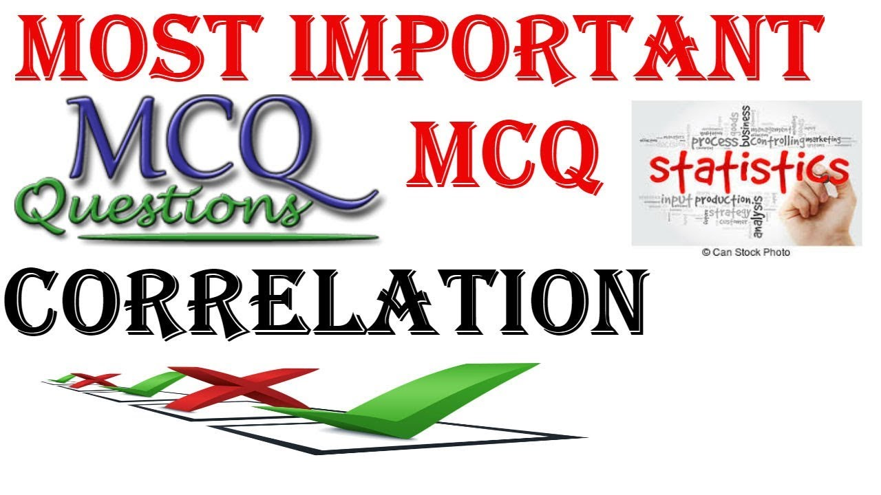 UGC NET COMMERCE - MOST IMPORTANT MCQ ON CORRELATION