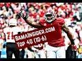 Alabama Football Top 40 (10-6)