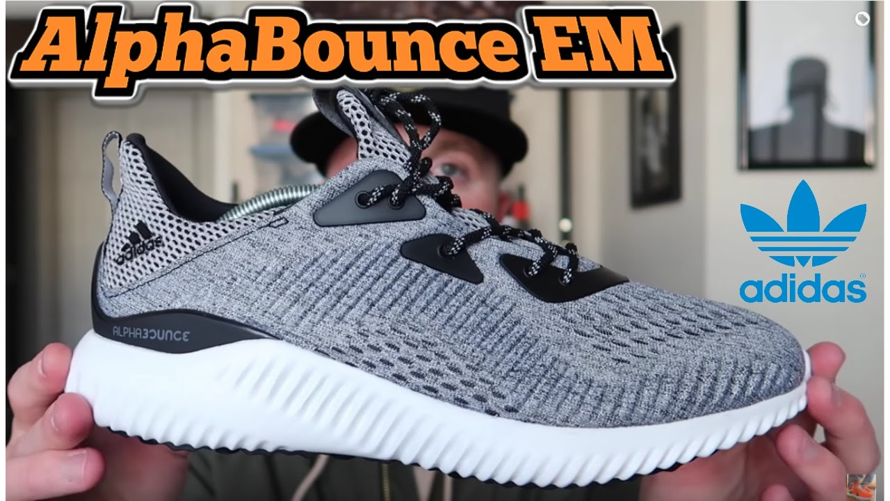 Adidas AlphaBounce EM | Best Alternative to Ultra Boost? (Engineered Mesh)  New Model