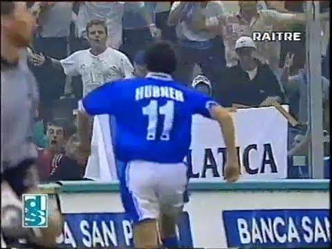 1997-98 (2a - 13-09-1997) Brescia-Sampdoria 3-3 [Hubner 3,Boghossian,Montella 2] Servizio D.S.Rai3