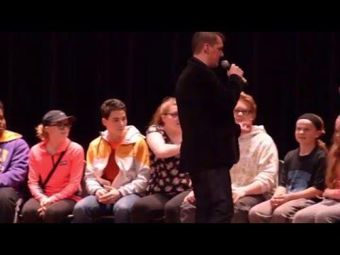 Jack Hirsh At Rome Free Academy 3-24-16