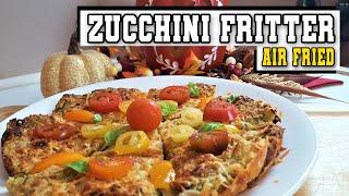 Ninja Foodi Zucchini Fritter | Air Fried Zucchini Frittata Hash