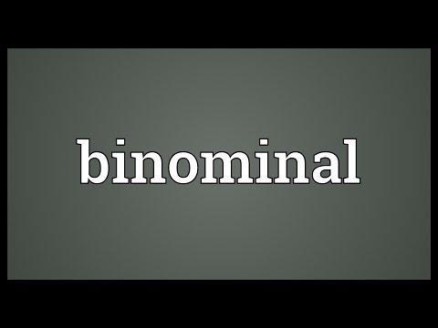 Binominal Meaning