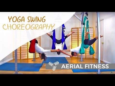 Yoga Swing Dance Trio - Aerial Fitness