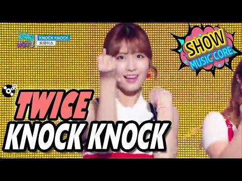 [HOT] TWICE - KNOCK KNOCK, 트와이스 - KNOCK KNOCK Show Music core 20170304