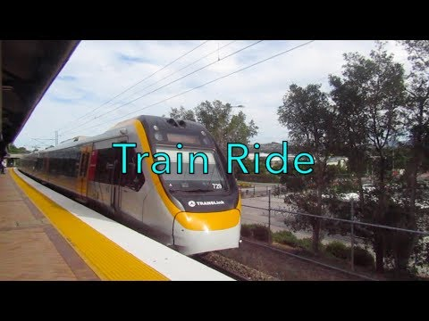 Train Ride From Gold Coast To Brisbane QLD