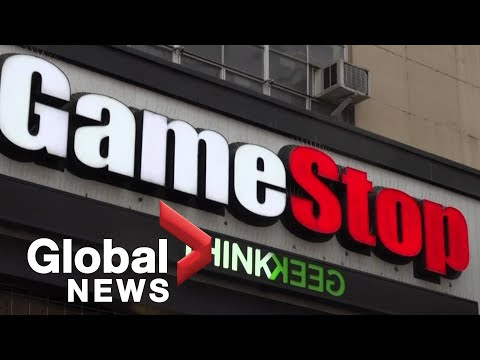 """Stocks in video game retailer Gamestop rise sharply amid """"short squeeze"""""""