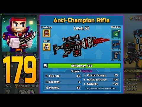 Pixel Gun 3D - Gameplay Walkthrough Part 179 - Anti-Champion Rifle