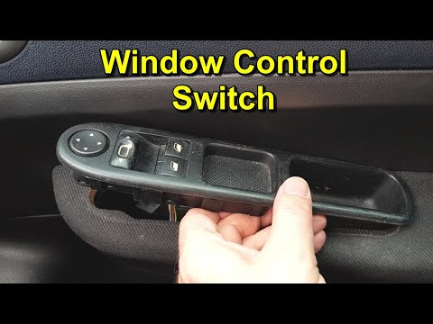 How to Replace the Window Control Panel on a Peugeot 307