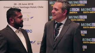 Highlights from Day 1 at MiningTech South America 2018 in Santiago, Chile
