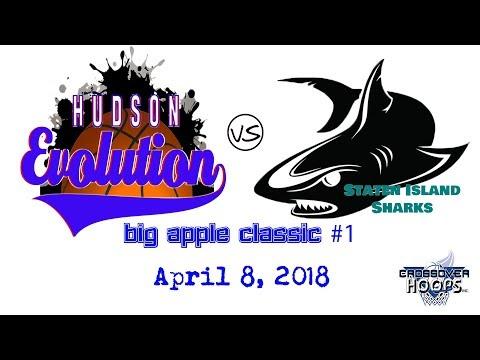 Hudson Evolution vs Staten Island Sharks - Big Apple Classic   April 8, 2018