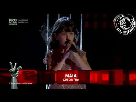 Vocea Romaniei Junior - Finals (Maia - Girl on Fire)