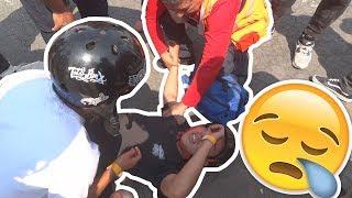 Mi segunda COMPETENCIA BMX   SE DISLOCA EL HOMBRO !!