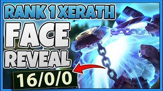 #1 XERATH WORLD | ZWAG FACE REVEAL + PERFECT KDA GAME - League of Legends