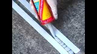 Sikaflex Construction(Однокомпонентный полиуретановый герметик для строительных швов. Герметик Construction эластичный, выдерживает..., 2015-04-02T22:35:45.000Z)