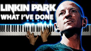 Linkin Park - What I've Done | Piano cover
