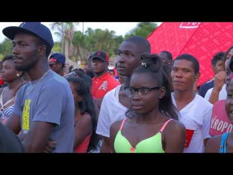 GUYANA DANCEHALL   RE EDIT   SUNDAY AT THE LINDEN HIGHWAY CREEK IN GUYANA