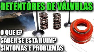 Motor Fumando ? - Como Saber se os Retentores de Válvulas estão Ruins ? (Retífica de Cabeçote)