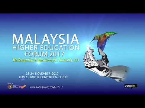 E backdrop Malaysia Higher Education Forum 2017 - Redesigning Education For Industry 4.0
